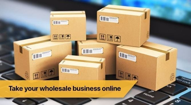 Ecommerce for wholesalers