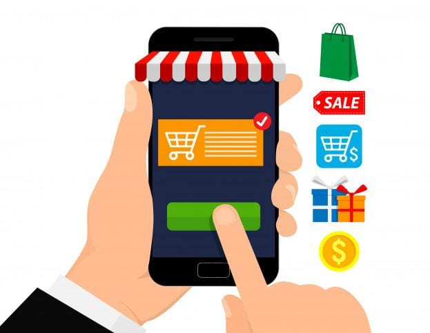 mobiles Einkaufen